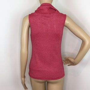 Michael Stars Tops - Michael Stars Cowl Neck Red Blouse